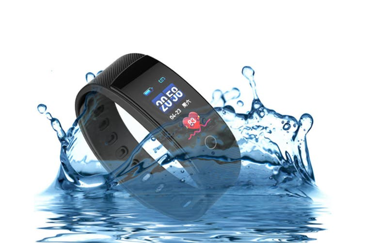 Smart Watch Heart Rate Monitor,Low Power Consumption Fitness Tracker Blue