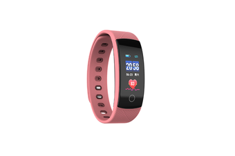 Smart Watch Heart Rate Monitor,Low Power Consumption Fitness Tracker Pink