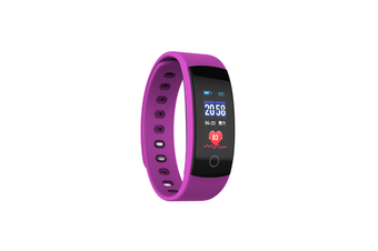 Smart Watch Heart Rate Monitor,Low Power Consumption Fitness Tracker Purple