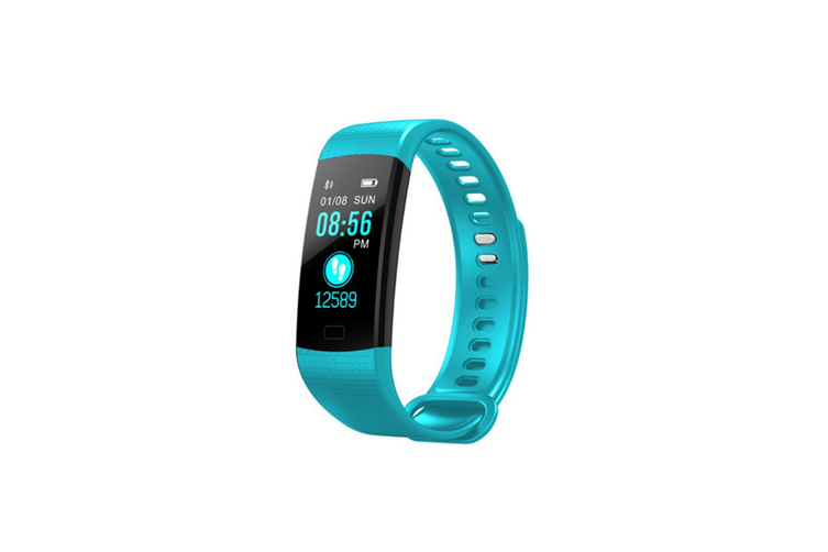 Y5 Color Screen Fitness Watch Activity Tracker With Heart Rate Monitor Green