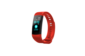 Y5 Color Screen Fitness Watch Activity Tracker With Heart Rate Monitor Red