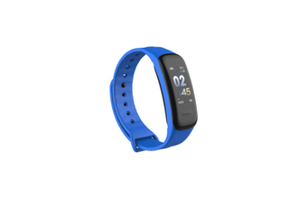 Smart Bracelet Waterproof Blood Pressure Heart Rate Monitor Smart Wrist Blue