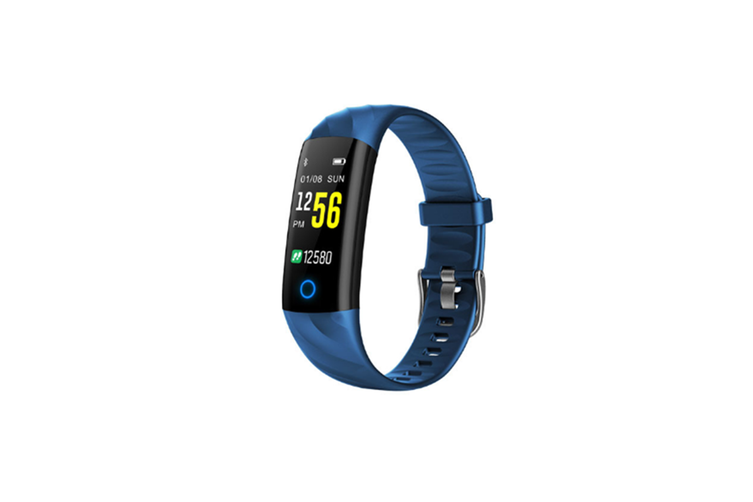 Bluetooth Smart Watch With Heart Rate Monitor,Fitness Tracker Blue