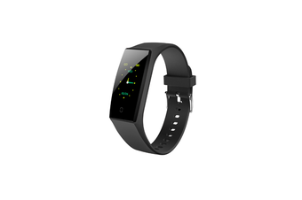 Bluetooth Heart Rate Monitor Fitness Tracker Smart Wristband Black