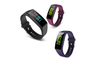 Bluetooth Heart Rate Monitor Fitness Tracker Smart Wristband Purple