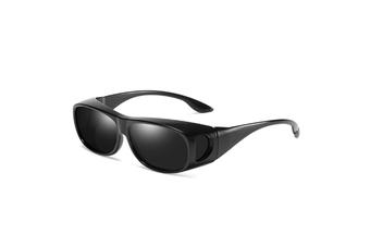 Hd Sunglasses Night Driving Glasses Anti-Glare Wear Over Glasses - 1
