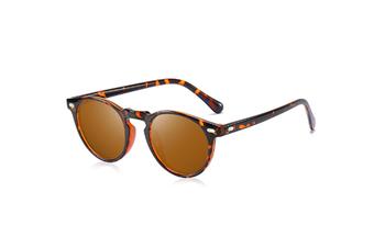 Great Classic Polarized Sunglasses Men Women Mirrored Hd Lens - 2