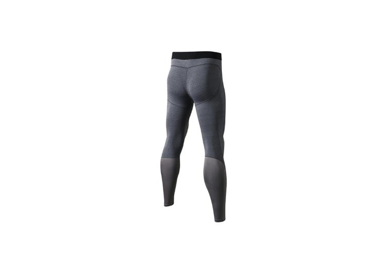 Men'S Compression Pants Cool Dry Baselayer Tights Leggings - Grey Grey XS