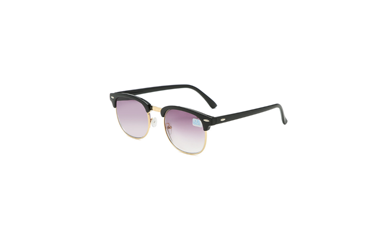Nearsighted Shortsighted Myopia Sunglasses Glasses For Men And Women - 1 Gold 100 Degrees Myopia