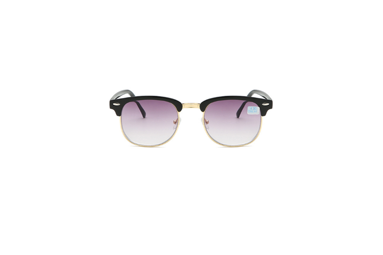 Nearsighted Shortsighted Myopia Sunglasses Glasses For Men And Women - 1 Gold 400 Degrees Myopia
