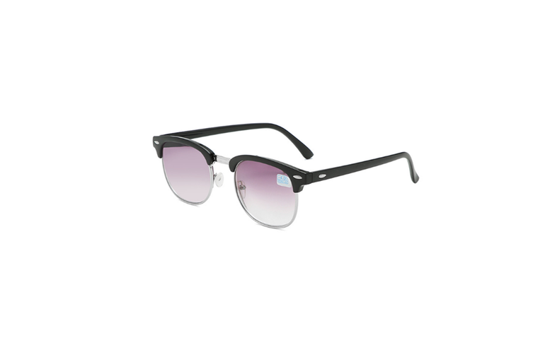 Nearsighted Shortsighted Myopia Sunglasses Glasses For Men And Women - 2 Silver 600 Degrees Myopia