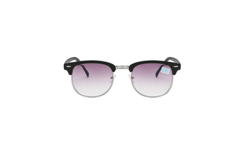 Nearsighted Shortsighted Myopia Sunglasses Glasses For Men And Women - 3 Silver 250 Degrees Myopia