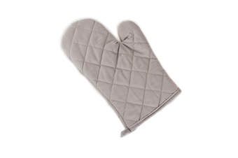 2Pcs Of Thickened Microwave Oven Gloves With High Temperature Resistance Grey