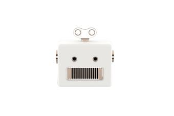 Mini-Wireless Bluetooth Small Stereo Portable Retro Speaker - White White