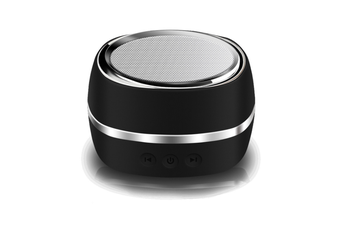 Wireless Bluetooth Speaker Outdoor Sports Intelligent Mini-Subwoofer Speaker Black