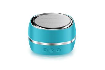 Wireless Bluetooth Speaker Outdoor Sports Intelligent Mini-Subwoofer Speaker Blue