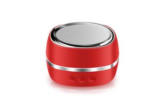 Wireless Bluetooth Speaker Outdoor Sports Intelligent Mini-Subwoofer Speaker Red