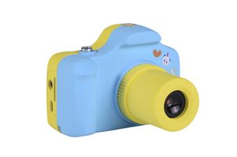 Children'S Cartoon Digital Camera Multifunctional Photo Mini Camera Blue