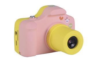 Children'S Cartoon Digital Camera Multifunctional Photo Mini Camera Pink