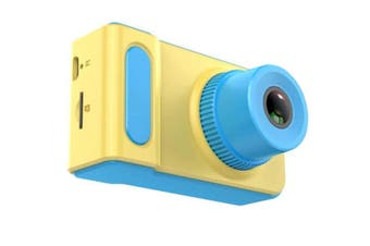 Children'S Digital Camera Mini Camera Small Slr Camera Cartoon Game Photography Blue