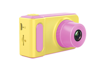 Children'S Digital Camera Mini Camera Small Slr Camera Cartoon Game Photography Pink