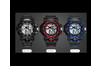 Outdoor Multifunctional Student Watch Men'S Sports Electronic Watch Red