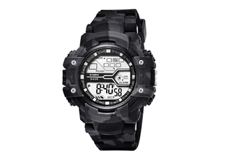 Camouflage Sports Electronic Watch Waterproof Fashion Watch Grey