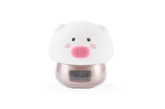 Night Lamp Alarm Clock Wake-Up Lamp Alarm Clock Tape Remote Control Clock - 3 Gold
