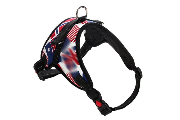 Dog Chain Explosion-Proof Breasted Strap For Walking Dog Leash - 9 Red XL