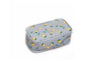 Travel Multifunctional Finishing Bag Ladies Underwear Receiving Bag - Grey Lemon Grey