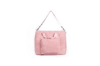 Travel Bag Foldable Pull Rod Bag Single Shoulder Portable Travel Bag - Pink Pink