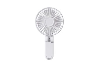 Portable Hand-Held Rechargeable Small Fan Foldable Mini Fan - White White 20.3X11X4.3Cm