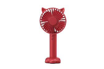 Usb Charged Handheld Mini Fan Nightlight With Mobile Bracket - Red Red 22.5X10.5X4.2Cm