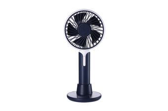 Mobile Phone Bracket Mini Fan Handheld Portable Fan - Black Black 99X38X220Mm