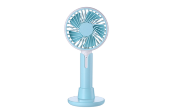 Mobile Phone Bracket Mini Fan Handheld Portable Fan - Blue Blue 99X38X220Mm