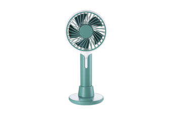 Mobile Phone Bracket Mini Fan Handheld Portable Fan - Green Green 99X38X220Mm