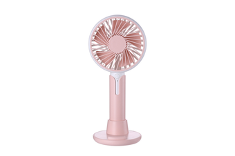 Mobile Phone Bracket Mini Fan Handheld Portable Fan - Pink Pink 99X38X220Mm