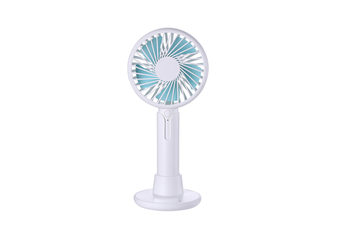 Mobile Phone Bracket Mini Fan Handheld Portable Fan - White White 99X38X220Mm