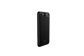 Mobile Power Supply With Back Clip Light And Thin Mobile Phone Shell For Iphone - Black Black Iphone 6/7/8 Plus