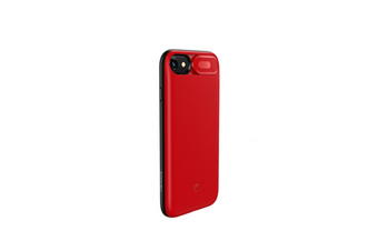 Mobile Power Supply With Back Clip Light And Thin Mobile Phone Shell For Iphone - Red Red Iphone 6/7/8