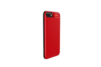 Mobile Power Supply With Back Clip Light And Thin Mobile Phone Shell For Iphone - Red Red Iphone 6/7/8 Plus