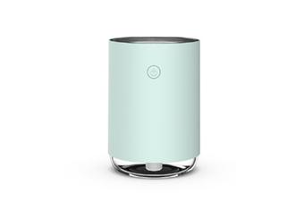 WJS USB Humidifier Home Bedroom Air Conditioning Room Mini Aerosol Dispenser Desktop Water Meter-Blue