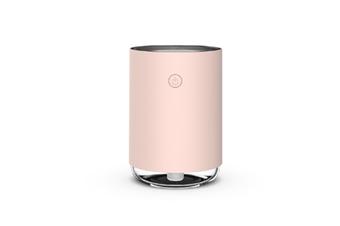 WJS USB Humidifier Home Bedroom Air Conditioning Room Mini Aerosol Dispenser Desktop Water Meter-Pink