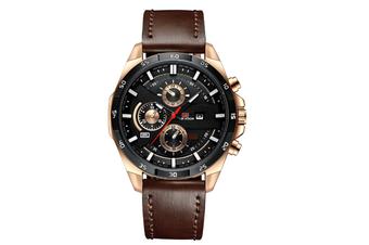 WJS Stylish Waterproof Outdoor Sports and Leisure Watch Belt Calendar Quartz Watch Suitable for Men-1