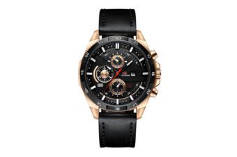 WJS Stylish Waterproof Outdoor Sports and Leisure Watch Belt Calendar Quartz Watch Suitable for Men-5