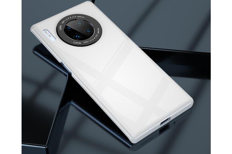 WJS Simple Mirror Anti-drop Hard Shell Glass Phone Case for Huawei Mate30-Huawei Mate30