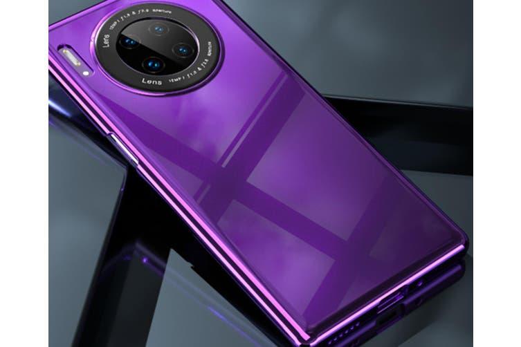 WJS Simple Mirror Anti-drop Hard Shell Glass Phone Case for Huawei Mate30 Pro-Huawei Mate30pro