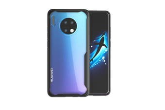 WJS Simple and Transparent Mobile Phone Case Drop Protection Cover for Mate30 Series-Huawei Mate30pro