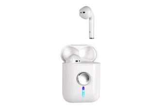 WJS Creative Bluetooth 5.0 Wireless Headphone Flip Cool LED Pop-up Fingertip Gyro Wireless Earbuds