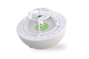 WJS Mini Portable USB Dishwasher Ultrasound Bubble Dishwasher Kitchen Surf Dishwasher-Green